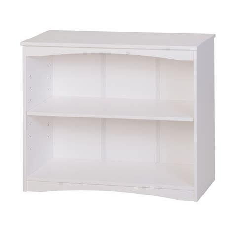 Essentials Wooden Bookcase 36 Quot Wide White Finish Camaflexi White Wooden Bookcases