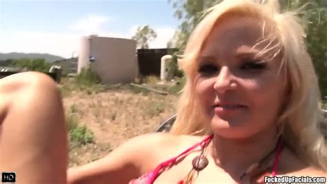 Outdoor Sex And Tons Of Cum On Her Face Nicky Angel