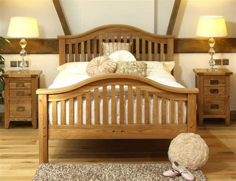 Size Bed Frames Vancouver Vancouver Oak King Size Bed High End Oak Furniture