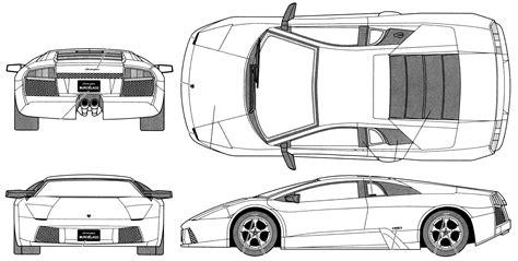 Lamborghini Gallardo Blueprints Lamborghini Gallardo Blueprint Lamborghini Ga