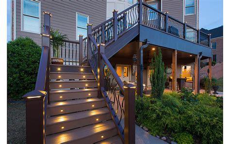 amazing deck lighting ideas  add  charm