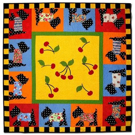 Scottie Quilt Pattern by Scottie Quilt Pattern Sewing Quilts Dogs
