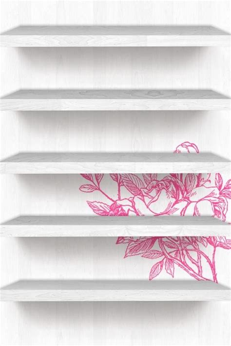 girly wallpaper shelf 22 best images about iphone wallpapers on pinterest
