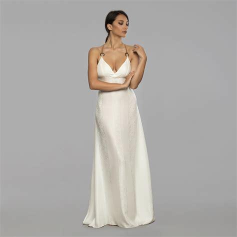 Silk Wedding Dresses by White Silk Dress Wedding Dress