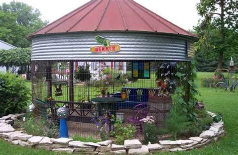 How To Build A Corn Crib by Gazebos Corn Crib Gazebo