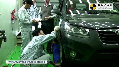 nrma car seat ratings ancap crash test of the hyundai santa fe car review