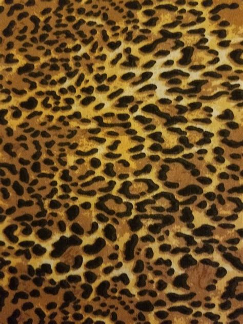 leopard fabric leopard cheetah animal print fabric cotton