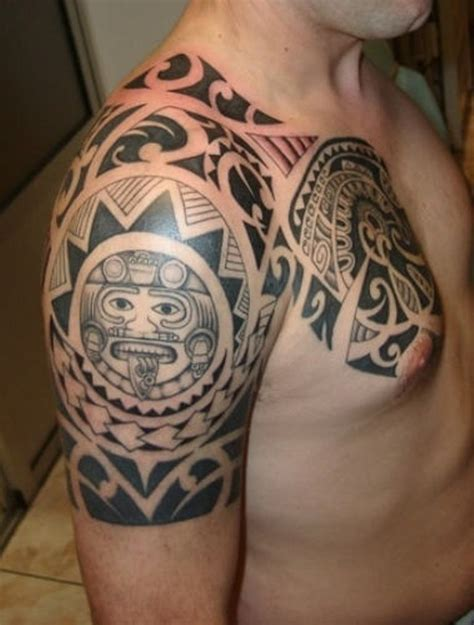 samoan back tattoo designs 67 cool shoulder tattoos