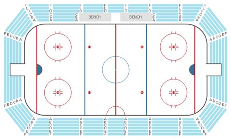 hockey rink layout design seating plans building drawing software for design