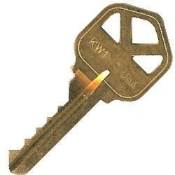 Kwikset Kw1 Bump Key Single Bump Keys Probumpkeys Com Master Lock Bump Key Template