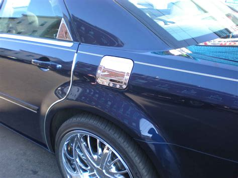 Dodge Magnum Chrome Fuel Door Cover Trim