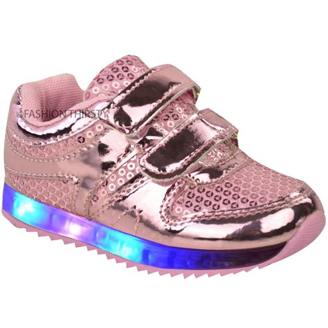 light shoes for toddlers babies led light up trainers strappy