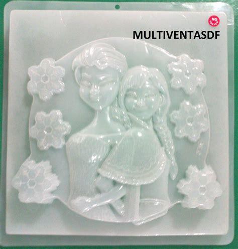 molde mediano para hacer gelatinas de olaf frozen disney 45 00 molde jumbo para gelatina figura ana y elsa frozen