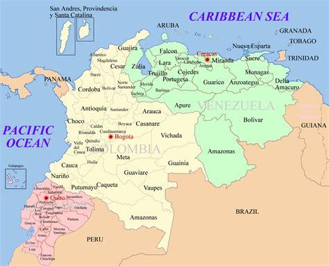 imagenes venezuela colombia file ecuador colombia venezuela map png wikimedia commons