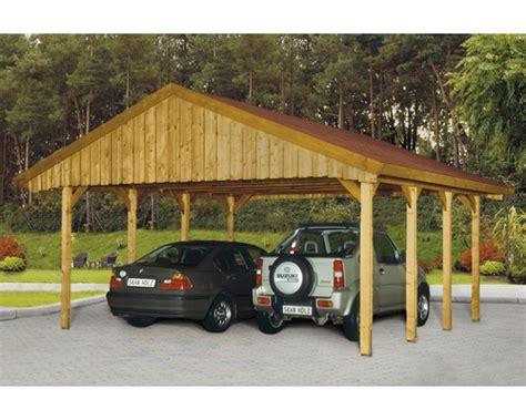 Carport Kaufen Schweiz by Doppelcarport Skan Holz Mit Roten Dachschindeln 580x600 Cm