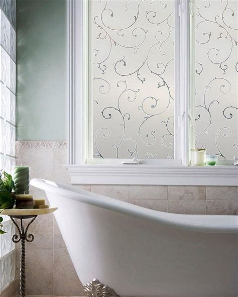 how to cover a bathroom window how to cover a bathroom window decorative window film vinyl static cling frosted glass
