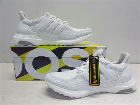 adidas s size 7 5 all white ultra boost running shoes aq5934 ebay