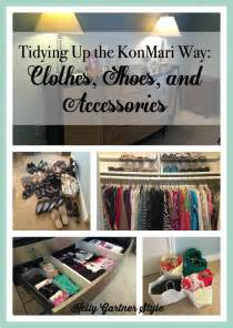 Tidying up the konmari way remaining clothes shoes and accessories