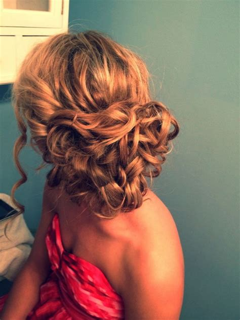 homecoming hairstyles for really curly hair curly updo prom hairstyles
