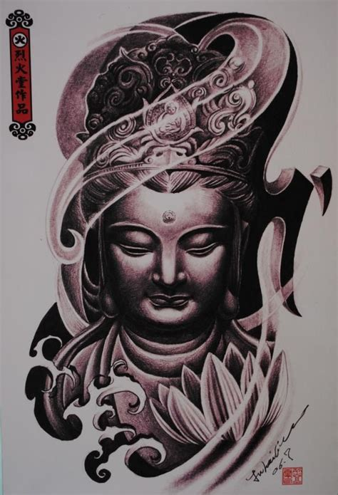 buddha head tattoo 1000 images about buda on dibujo