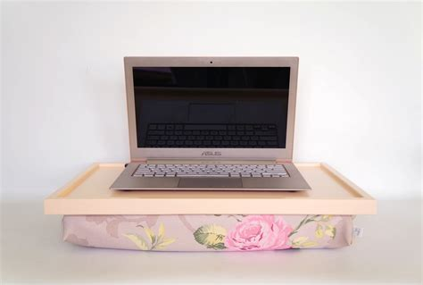 Laptop Desk Pillow Laptop Lap Desk Or Breakfast Serving Tray Soft Peach