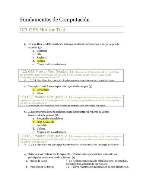 preguntas generales para un cuestionario 02 cuestionario fundamentos de computaci 243 n gs3