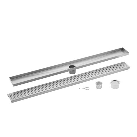 sink grate stainless steel ipt sink company 60 in stainless steel square grate