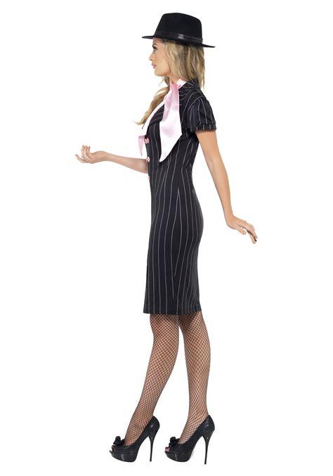 Dress Mol Gangster Moll Costume