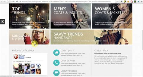 bootstrap theme free prestashop prestashop 1 6 left column on homepage youtube