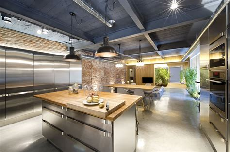 loft style house commercial space turned into a loft style home in terrassa