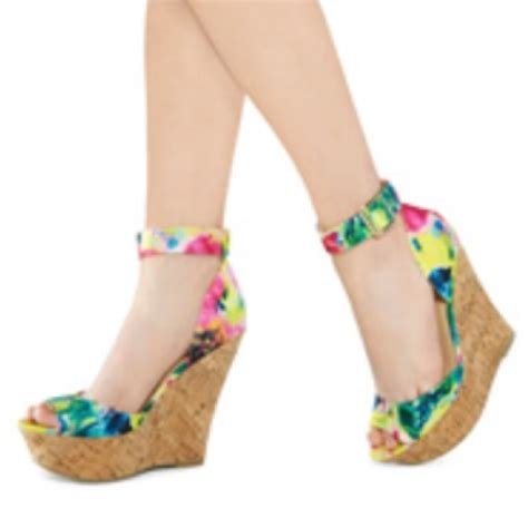 just fab kid shoes 36 justfab shoes new justfab wedges from