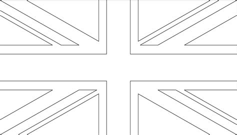 free coloring pages of england flag outline igoflags world flags flag images vector icons banners