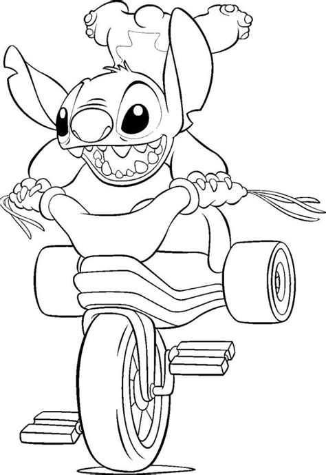 cute stitch coloring pages 22 best images about lilo and stitch coloring pages on