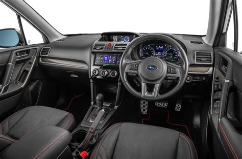 subaru forester 2017 interior in showrooms now subaru forester 2 0i s autoworld com my