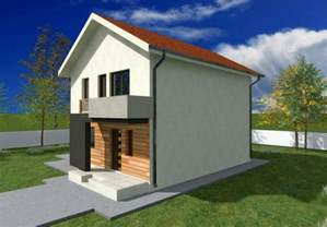 Small Two Story House by Small Two Story House Plans With Balcony Design Pictures