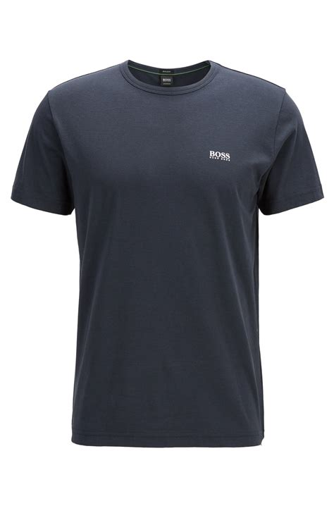 Details T Shirts 187 regular fit t shirt with contrast detail