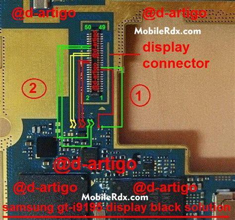 repair samsung gt  white  blank display problem