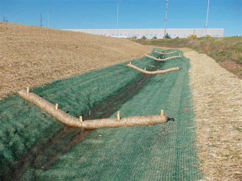Straw Landscape Matting - mirimichi green simple steps to erosion on