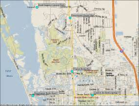 bonita bay florida map bonita springs florida hotels map from southwest florida
