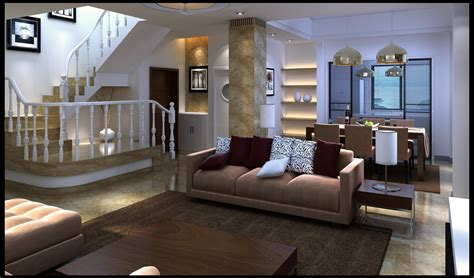 furnished living rooms modern fully furnished living room with ma 3d model max cgtrader