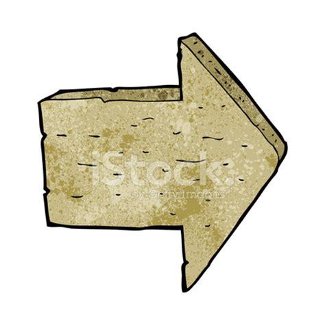 cartoon wooden arrow sign stock vector freeimages.com