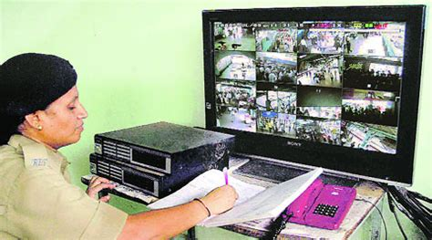 cctv cameras to monitor cleanliness at railway stations