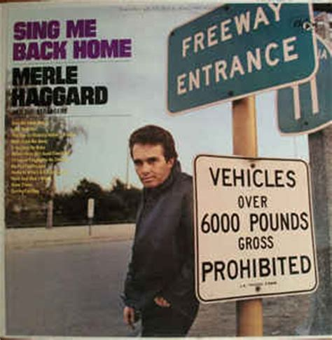 merle haggard and the strangers sing me back home vinyl