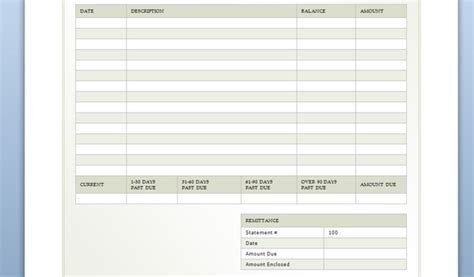 Billing Sheet Template Billing Sheet Template For Word Powerpoint Presentation