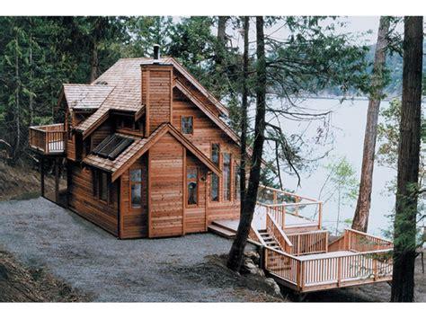 Monticello Waterfront Home Plan 080d 0003 House Plans Rustic Lakefront House Plans