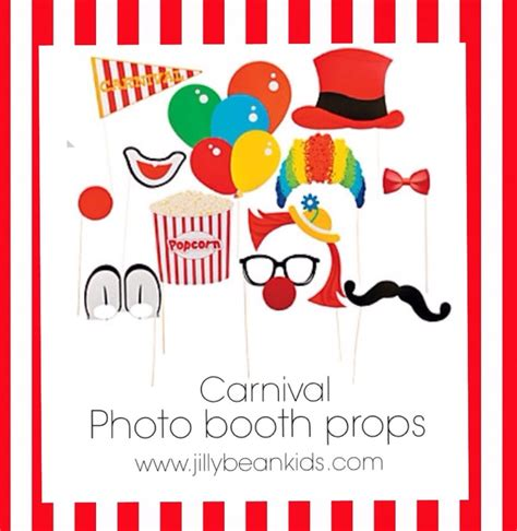free printable photo booth props circus carnival props circus party backdrops standees large party