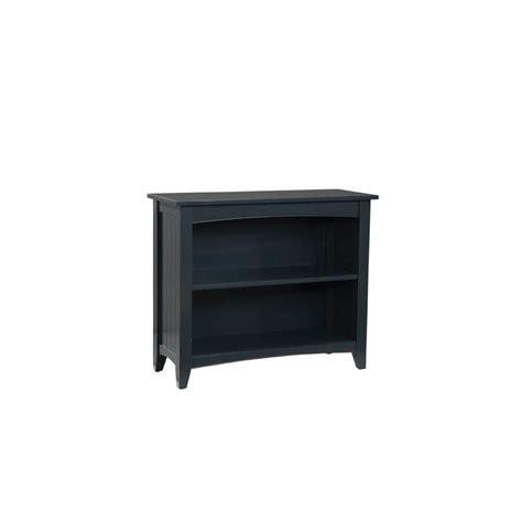 Black Open Bookshelf Alaterre Furniture Shaker Cottage Black Open Bookcase