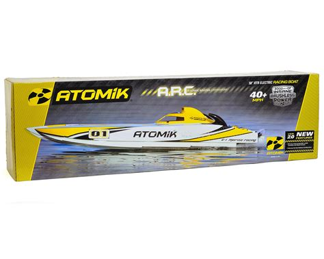 atomik 58 rc boat atomik rc arc 58 rtr brushless catamaran boat w vr3s 2