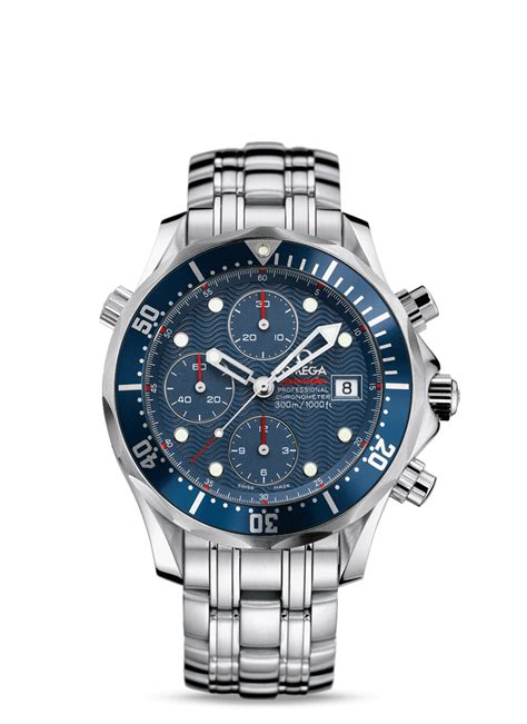 Omega Seamaster Chronoraph Premium 5 2225 80 00 omega seamaster diver 300m automatic 41 5 chronograph stainless steel blue