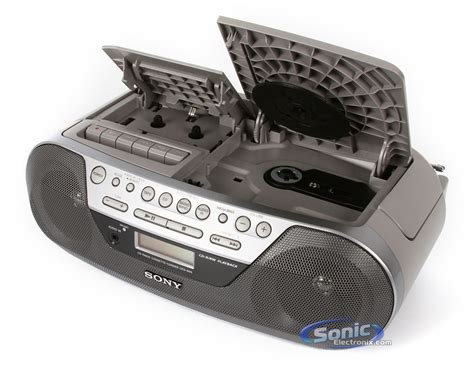 cd radio cassette player sony cfd s05 portable mega bass boombox cd player am fm